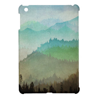 Watercolor Hills iPad Mini Covers