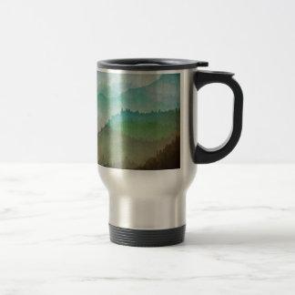 Watercolor Hills Travel Mug