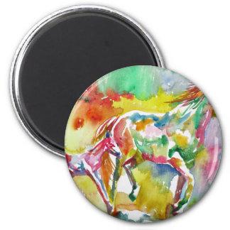 watercolor HORSE .17 Magnet