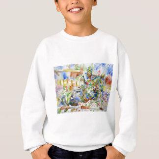 watercolor HORSE .4 Sweatshirt