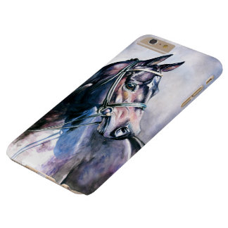 Watercolor Horse Barely There iPhone 6 Plus Case
