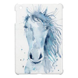 Watercolor horse portrait iPad mini cover