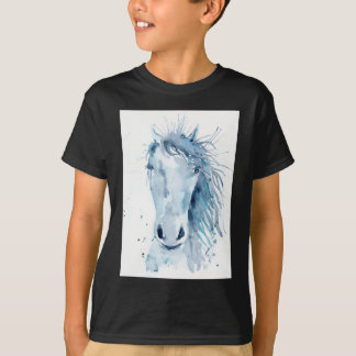 Watercolor horse portrait T-Shirt