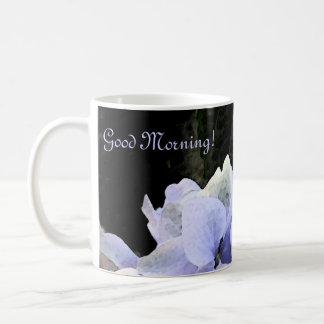 Watercolor Hydrangea Coffee Mug