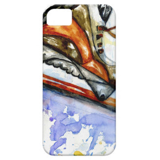 Watercolor Ice Skate iPhone 5 Covers