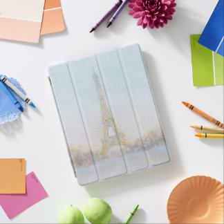 Watercolor | Image of Eiffel Towe iPad Cover