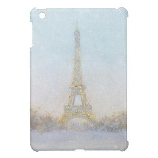 Watercolor   Image of Eiffel Towe iPad Mini Case