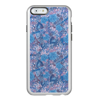 Watercolor in blues incipio feather® shine iPhone 6 case