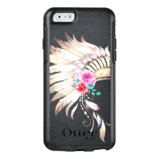 Watercolor Indian Headdress OtterBox iPhone 6/6s Case