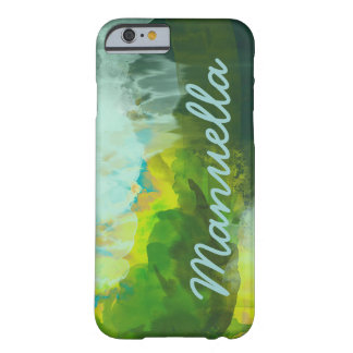 watercolor iPhone-6 personalized Barely There iPhone 6 Case
