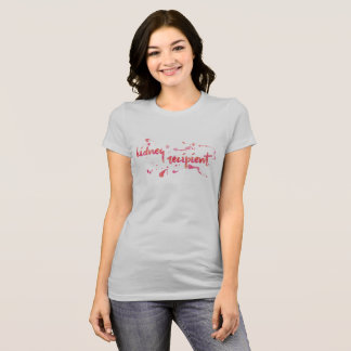 Watercolor Kidney Recipient T-Shirt