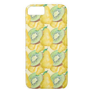 Watercolor Kiwi and Pear Case-Mate iPhone Case