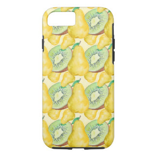 Watercolor Kiwi and Pear iPhone 8/7 Case