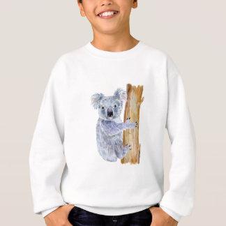 Watercolor koala illustration sweatshirt