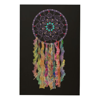 Watercolor Lace   Dream Catcher   You Customize Wood Canvases