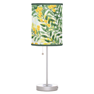 Watercolor Leaves Lamp