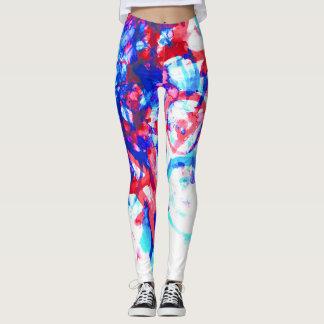 Watercolor Leggings