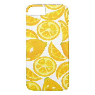 Watercolor Lemon Slices iPhone 8/7 Case