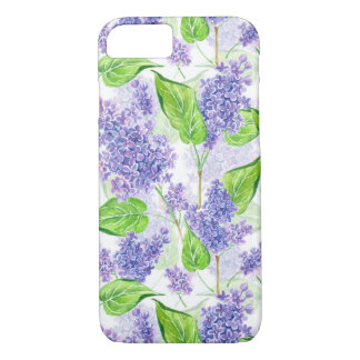 Watercolor lilac flowers Case-Mate iPhone case