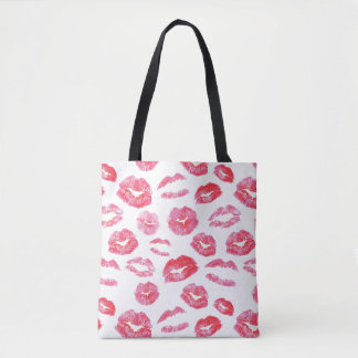 Watercolor Lipstick Lipsense Tote Bag