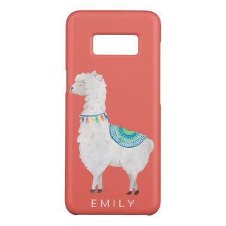 watercolor llamas cute modern hipster Case-Mate samsung galaxy s8 case