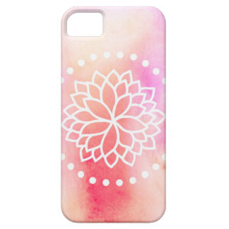 Watercolor Lotus iPhone 5/5s Case