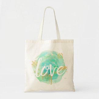 Watercolor Love Tote Bag