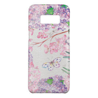 Watercolor Luscious Pink Purple Lilacs Case-Mate Samsung Galaxy S8 Case
