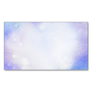 Watercolor Magnetic Business Card