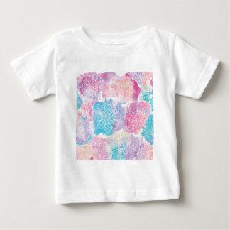 Watercolor mandalas colorful splashes boho baby T-Shirt
