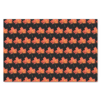 Watercolor Maple Leaf Tissue Paper