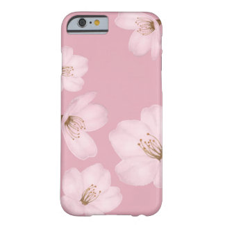 Watercolor Mauve Cherry Blossom Sakura Phone Case