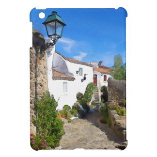 Watercolor Mediterranean village iPad Mini Covers