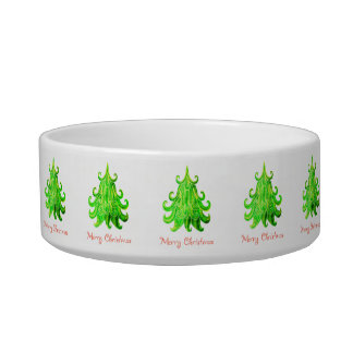 Watercolor Modern Christmas Tree Bowl