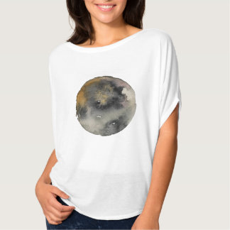 Watercolor moon inspired design T-Shirt