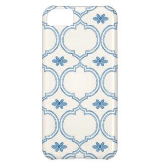 Watercolor Moroccan Quatrefoil Vintage Pattern Case-Mate iPhone Case