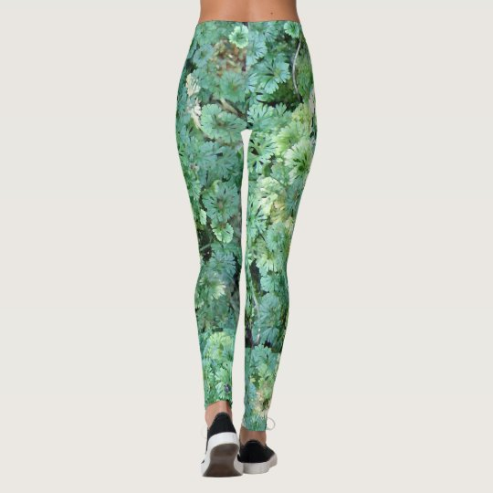 Watercolor Moss Leggings