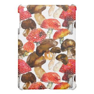 Watercolor mushrooms Cute fall pattern Cover For The iPad Mini