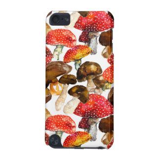 Watercolor mushrooms Cute fall pattern iPod Touch 5G Covers