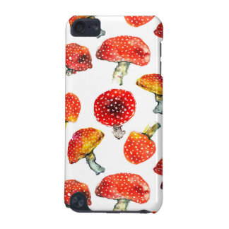Watercolor mushrooms Cute fall pattern iPod Touch (5th Generation) Cover