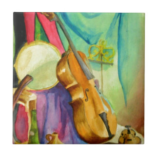Watercolor Music Tile