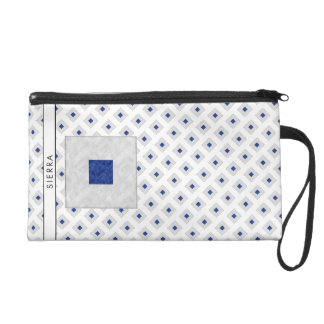 Watercolor Nautical Signal Maritime Flag Wristlet