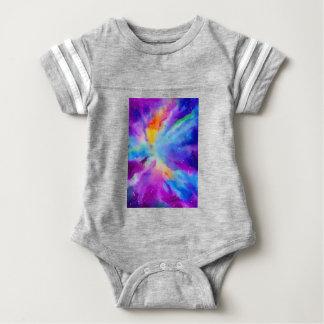 Watercolor Nebula Baby Bodysuit
