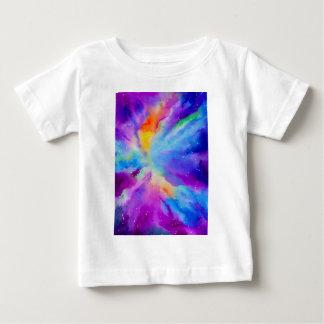 Watercolor Nebula Baby T-Shirt