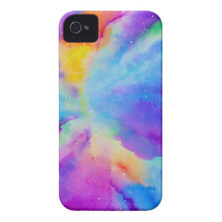 Watercolor Nebula iPhone 4 Cover