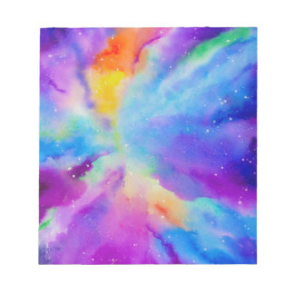 Watercolor Nebula Notepads