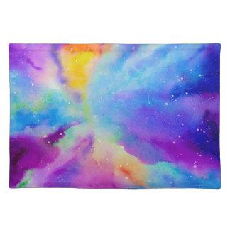 Watercolor Nebula Placemat