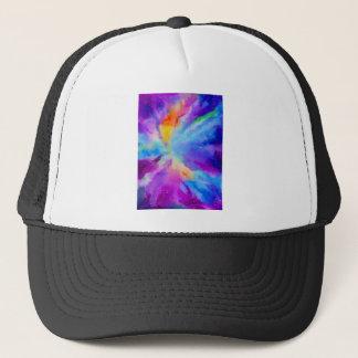 Watercolor Nebula Trucker Hat