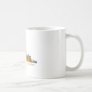 Watercolor New York Skyline Coffee Mug