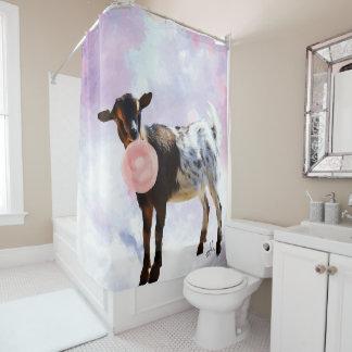 Watercolor Nigerian Dwarf Goat Bubblegum Bubble